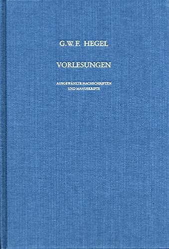 Vorlesung über die Philosophie der Kunst (Berlin 1823): Georg Wilhelm Friedrich Hegel