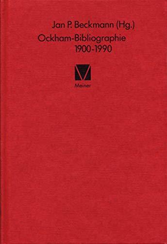 Ockham - Bibliographie 1900 - 1990: Wilhelm von Ockham