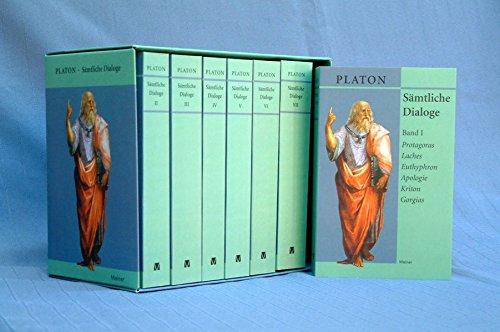 Sämtliche Dialoge: Platon