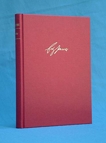 Werke / Kleine Schriften II (1787-1817). Texte: Friedrich H Jacobi