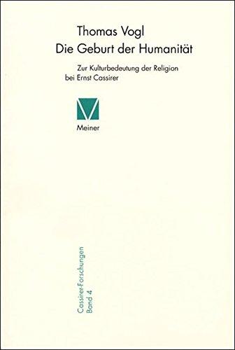 Die Geburt der Humanität: Thomas Vogl