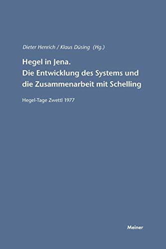 Hegel in Jena: Dieter Henrich