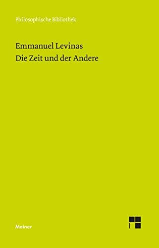 Die Zeit und der Andere. (3787316310) by Levinas, Emmanuel