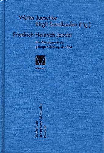Friedrich Heinrich Jacobi: Walter Jaeschke