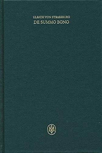 De Summo bono: Ulrich von Strassburg