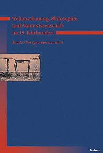 Weltanschauung, Philosophie und Naturwissenschaft im 19. Jahrhundert 3: Kurt Bayertz