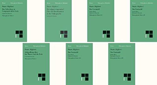 Philosophische Werke: Dante Aligheri