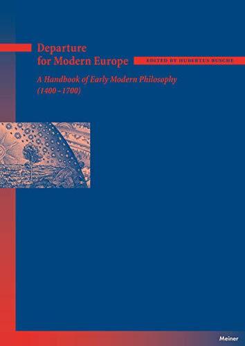 Departure for Modern Europe: Hubertus Busche