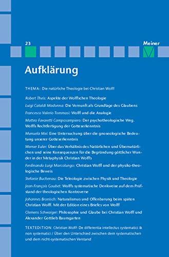 Christian Wolff: Michael Albrecht