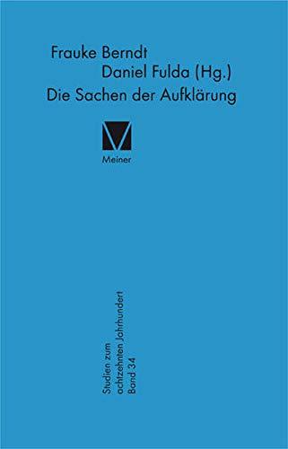 Die Sachen der Aufklärung: Frauke Berndt