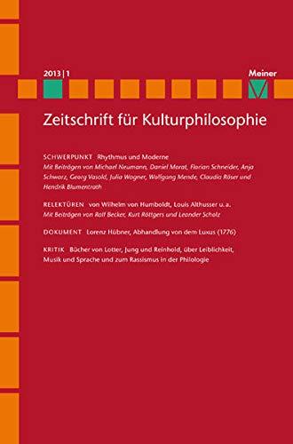 Rhythmus und Moderne: Ralf Konersmann