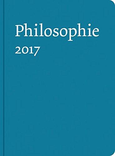 """9783787329175: Buchkalender """"Philosophie 2017"""""""