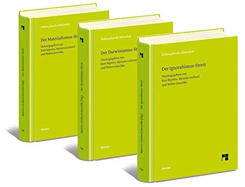 Der Materialismus-Streit, der Darwinismus-Streit und der Ignorabimus-Streit: Texte von L. Bü...