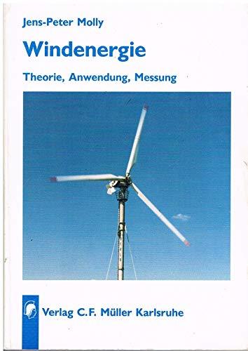 9783788072698: Windenergie. Theorie - Anwendung - Messung.