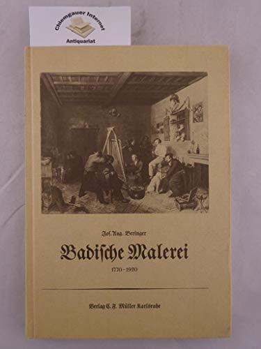 Badische Malerei 1770-1920 Beringer, Josef A and Theilmann, Rudolf: Beringer, Josef August
