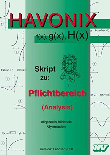 9783788314323: Havonix f(x), g(x), H(x)