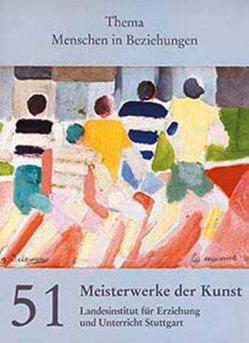 Meisterwerke der Kunst / Kunstmappe - Menschen