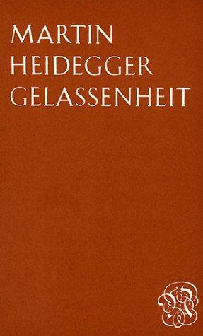 9783788501129: Gelassenheit (German Edition)