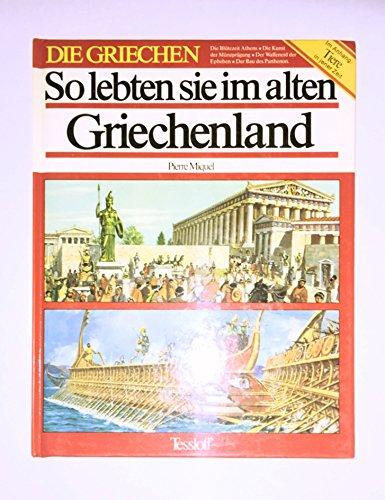 So lebten sie im alten Griechenland Cover