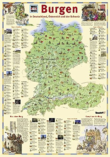 9783788611354 Was Ist Was Karte Burgen Abebooks Birgit