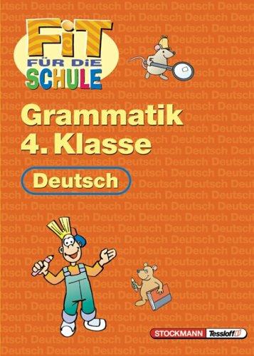 9783788612818: Fit für die Schule. Deutsch. Grammatik. 4. Klasse