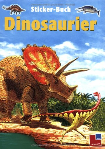 9783788614232: Tessloffs Sticker-Buch Dinosaurier