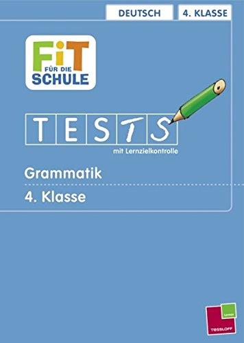 9783788615635: Deutsch 4. Klasse Grammatik