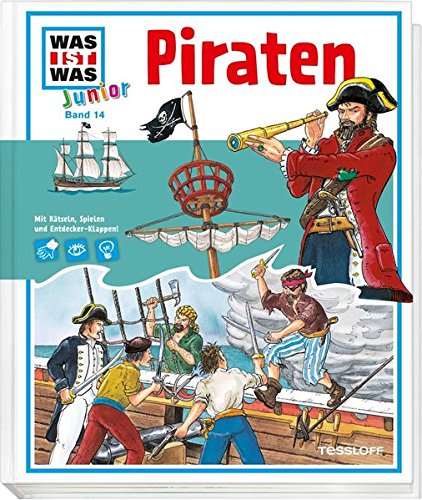 9783788616045: WAS IST WAS Junior, Band 14: Piraten