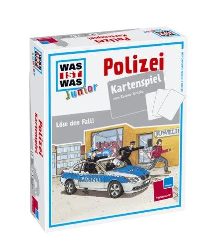 Was ist Was junior: Polizei. Kartenspiel: Knizia, Reiner