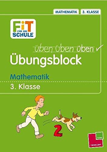 9783788616205: Fit f�r die Schule �bungsblock Mathematik 3. Klasse