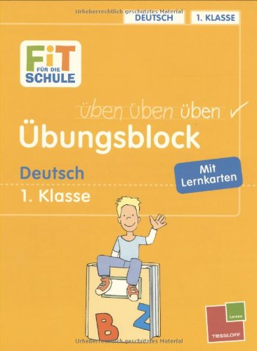 9783788616267: Übungsblock Deutsch 1. Klasse