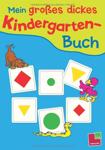 9783788616601: Mein großes dickes Kindergarten-Buch