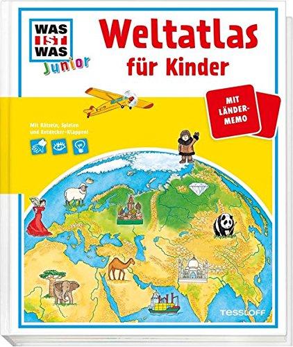 9783788619602: WAS IST WAS Junior Weltatlas für Kinder