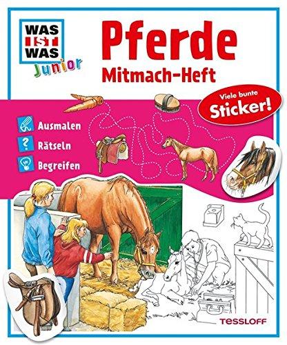 WAS IST WAS junior Mitmach-Heft Pferde & Ponys
