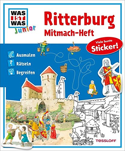 9783788619800: Mitmach-Heft Ritterburg: Ausmalen, Rätseln, Begreifen