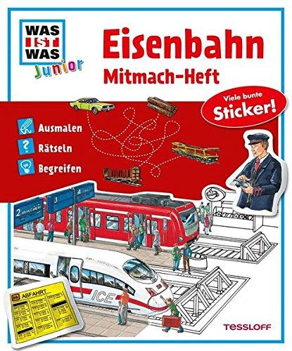 9783788619855: Mitmach-Heft Eisenbahn