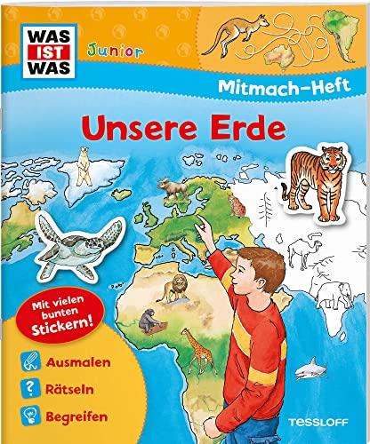 9783788619954: Mitmach-Heft Unsere Erde: Malen, Stickern, Rätseln. Ideal für Kinder ab 4 Jahren!