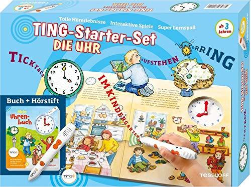 9783788620240: Ting-Starterset Die Uhr. Uhren-Bilderbuch und Hörstift