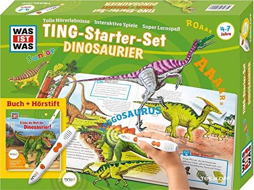 Was ist was Ting-Starter-Set Dinosaurier. Kinderbuch Dinos und Hörstift: Claudia Kaiser