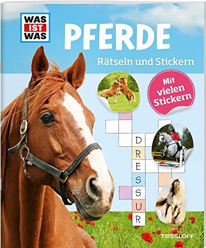 9783788621681: Rätseln und Stickern: Pferde