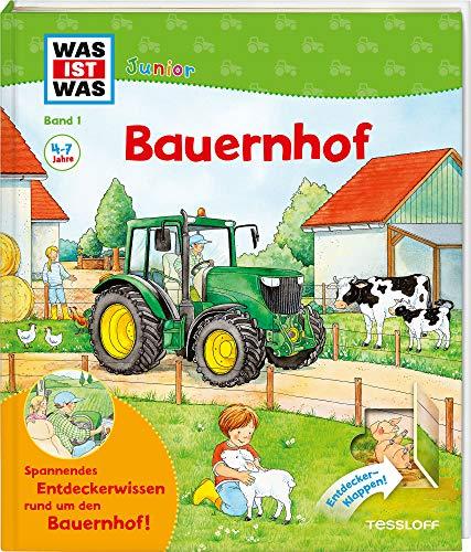 9783788622008: Was ist was junior, Band 01: Bauernhof. Kinderbuch ab 4 Jahren: Mit vielen Entdeckerklappen und zahlreichen spannenden Fakten rund um den Bauernhof