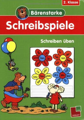 9783788624132: Bärenstarke Schreibspiele 2. Klasse: Schreiben üben