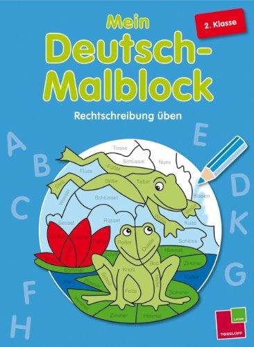 9783788624354: Mein Deutsch-Malblock. 2. Klasse: Rechtschreibung üben