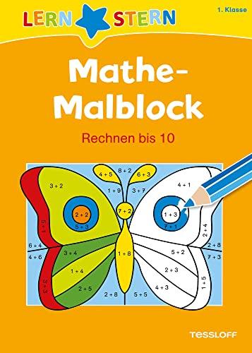 9783788625184 Lernstern Mathe Malblock 1 Klasse Rechnen