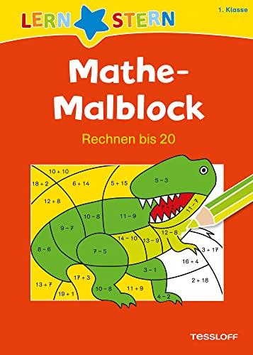 Mathe-Malblock. 1. Klasse. Rechnen bis 20