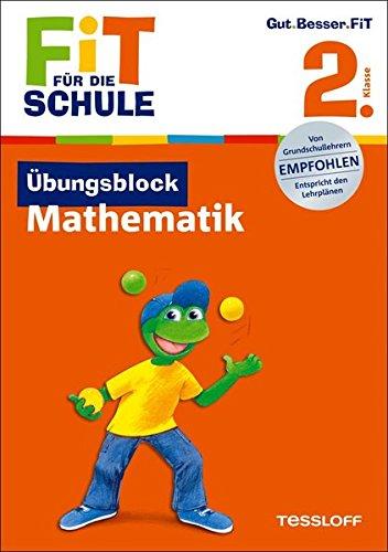 9783788625795: Fit für die Schule: Übungsblock Mathematik. 2. Klasse