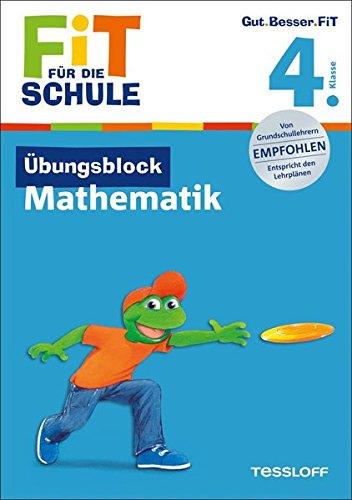 9783788625818: Fit für die Schule: Übungsblock 4. Klasse. Mathematik