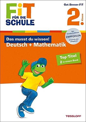 9783788626051: Fit für die Schule: Das musst du wissen! Deutsch + Mathematik 2. Klasse