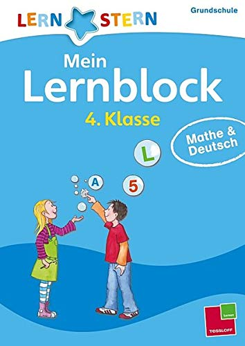 9783788626280: Lernstern: Mein Lernblock 4. Klasse. Mathe & Deutsch