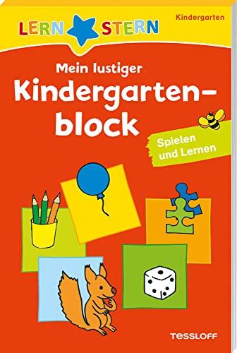 9783788626297: Lernstern: Mein lustiger Kindergartenblock. Spielen und Lernen